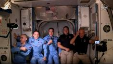 Dragon docks at International Space Station 19 hours after NASA-SpaceX launch