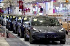 Tesla China sold 11,095 Model 3 vehicles in May, triple April's volume: CPCA
