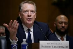 U.S. pulled out of talks on digital services taxes -Lighthizer