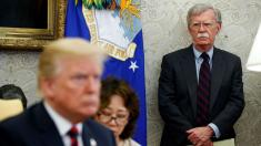 DOJ, Bolton lawyers face off in court hearing over push to stop book