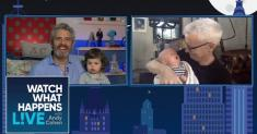 Anderson Cooper and Andy Cohen introduce their kids to each other