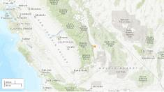 5.8 magnitude earthquake shakes California