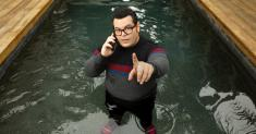 Josh Gad sees farcical space comedy 'Avenue 5' unintentionally play out in real life