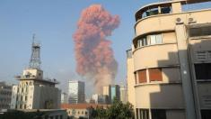 Massive explosion shocks Beirut