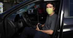 Pandemic portraits: Ian Byers-Gamber captures the art world from his car