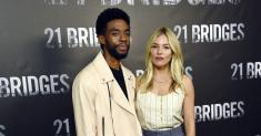 Chadwick Boseman took a salary cut to raise Sienna Miller's pay on '21 Bridges'