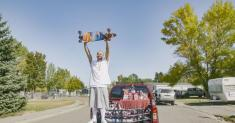 TikTok star Nathan Apodaca gets a new truck — and lots of juice — from Ocean Spray