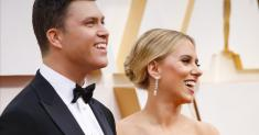 Marriage story meets weekend update: Scarlett Johansson, Colin Jost get married