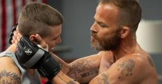 Review: An aspiring MMA fighter with a legendary father is 'Embattled' in more ways than one