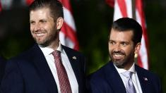 Eric Trump, Donald Trump Jr. amplified claims of election fraud, analysis shows