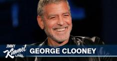 George Clooney admits — and shows how — he cuts his hair with a Flowbee. A what?