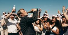 Review: In the high-spirited Danish dramedy 'Another Round,' they drink, therefore they are