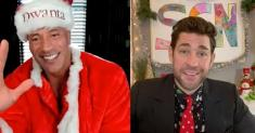 'Some Good News' returns with John Krasinski, Dwayne Johnson spreading holiday cheer