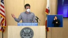 High LA virus deaths, more contagious variant hit California