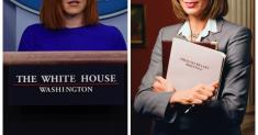 Column: Please stop comparing Biden Press Secretary Jen Psaki to 'The West Wing's' C.J. Cregg