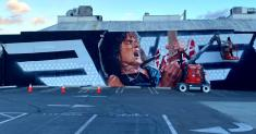 Mural honoring late Eddie Van Halen unveiled at Hollywood Guitar Center