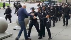 Assault charges dropped against Buffalo police officers seen pushing protester