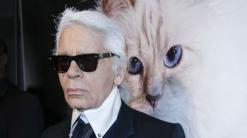 A cat could be set to inherit a fortune after Karl Lagerfeld's death
