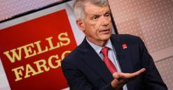Wells Fargo jumps as Wall Street thinks Sloan's exit will ease regulatory scrutiny