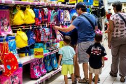 Millennial parents fight the urge to overspend on back-to-school shopping