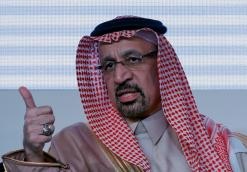 Saudi energy minister says he discussed oil markets with Russian counterpart