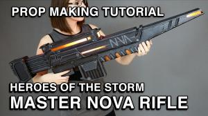Making of Novas Rifle Heroes of the Storm