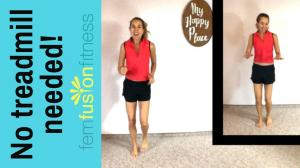 Build jogging endurance! MediumImpact Indoor Cardio Workout