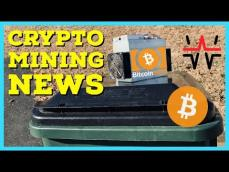 Crypto Mining News | GigaWatt WTT Bankruptcy | BCH SV Passes ABC in Hash Wars | New ASIC Miners