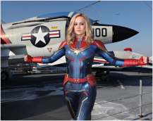 Carol Danvers BLASTS into NYC for her Debut