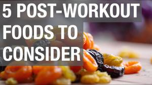 5 Post Workout Foods to Consider