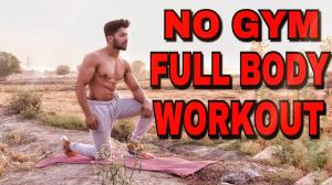 No Gym Full Body Workout At Home | Rohit Khatri Fitness