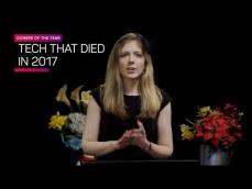 The tech that died in 2017