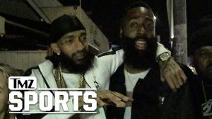 Nipsey Hussle Bros Down w James Harden, Youre an L.A. Legend! | TMZ Sports