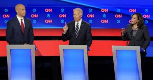Biden Under Fire From All Sides as Rivals Attack His Record