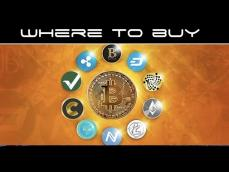 Where To Buy Altcoins and Cryptocurrency