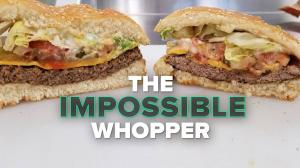 Trying Burger Kings Impossible Whopper