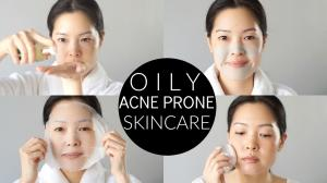 Basic Oily & AcneProne Skincare Routine and Essentials!