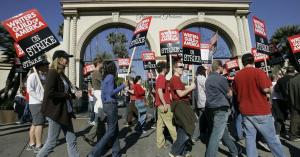 Unions flex their muscle as Hollywood scrambles back to work
