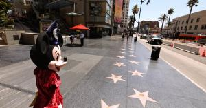 Sidewalk superheroes and the rest of the Hollywood Boulevard economy are being devastated by coronavirus