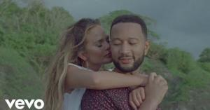 Chrissy Teigen and John Legend announce pregnancy in 'Wild' music video