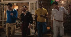 Review: The 'Boys' are back: Parsons, Quinto and Bomer bring the 'Band' party to Netflix