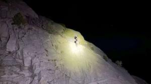 2 climbers rescued in a Utah canyon after being stranded overnight