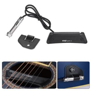 Alta qualidade Passive Soundhole Magnetic Coletor Single Coil para Guitar Folk