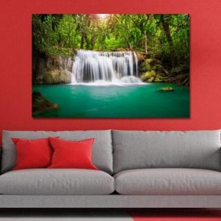 WPRU44V6 Photography A River in the Forest Print Art