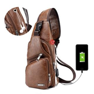 Men Outdoor Shoulder Chest Bag