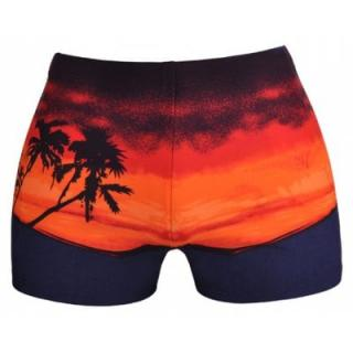 Printed Man Swimming Trunks