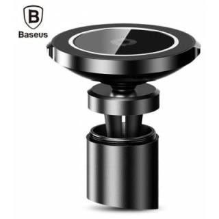 Baseus BSWC - 01 Big Ear Qi Wireless Charger Car Mount Holder