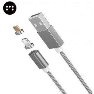 Moizen M4 Magnetic 8 Pin Micro USB Adapter Data Wire