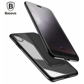 Baseus Touchable Case TPU Protective Flip Cover for iPhone X