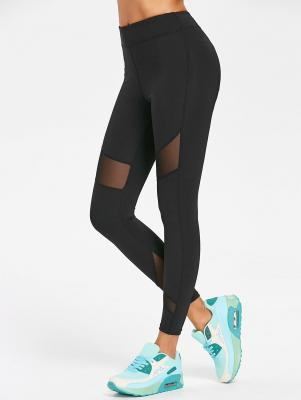 Sports Mesh Insert Leggings